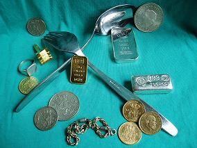 Edelmetaal, Goud, Zilver, Platina en Palladium